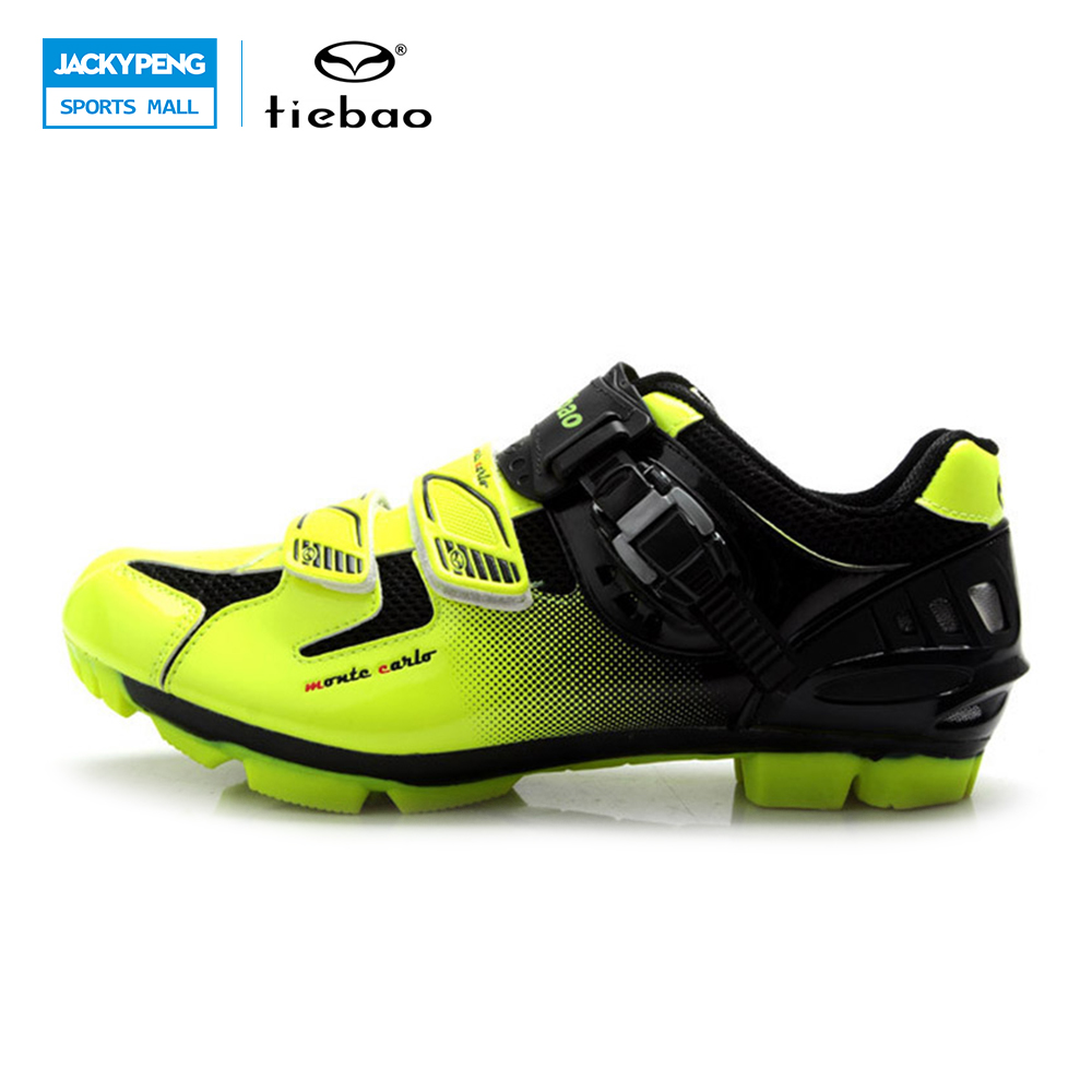 TIEBAO Professional MTB Cycling Shoes Men Women Mountain Bike Self-locking Shoes Breathable Bicycle Nylon-fibreglass Sole ShoesTIEBAO Professional MTB Cycling Shoes Men Women Mountain Bike Self-locking Shoes Breathable Bicycle Nylon-fibreglass Sole Shoes