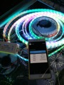 5 m 300/150 LED 5050 WS2811 12 V LED bande + DC5 24V Bluetooth  2048 pixel  Sans Fil IOS 8.0/Android 4.4 bluetooth4.0 magique contrôleur|control electricity|control w|control dmx -