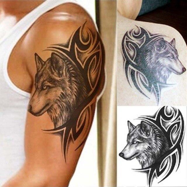 Lmlly 3d Impermeable Etiqueta Temporal Del Tatuaje Del Totem Del