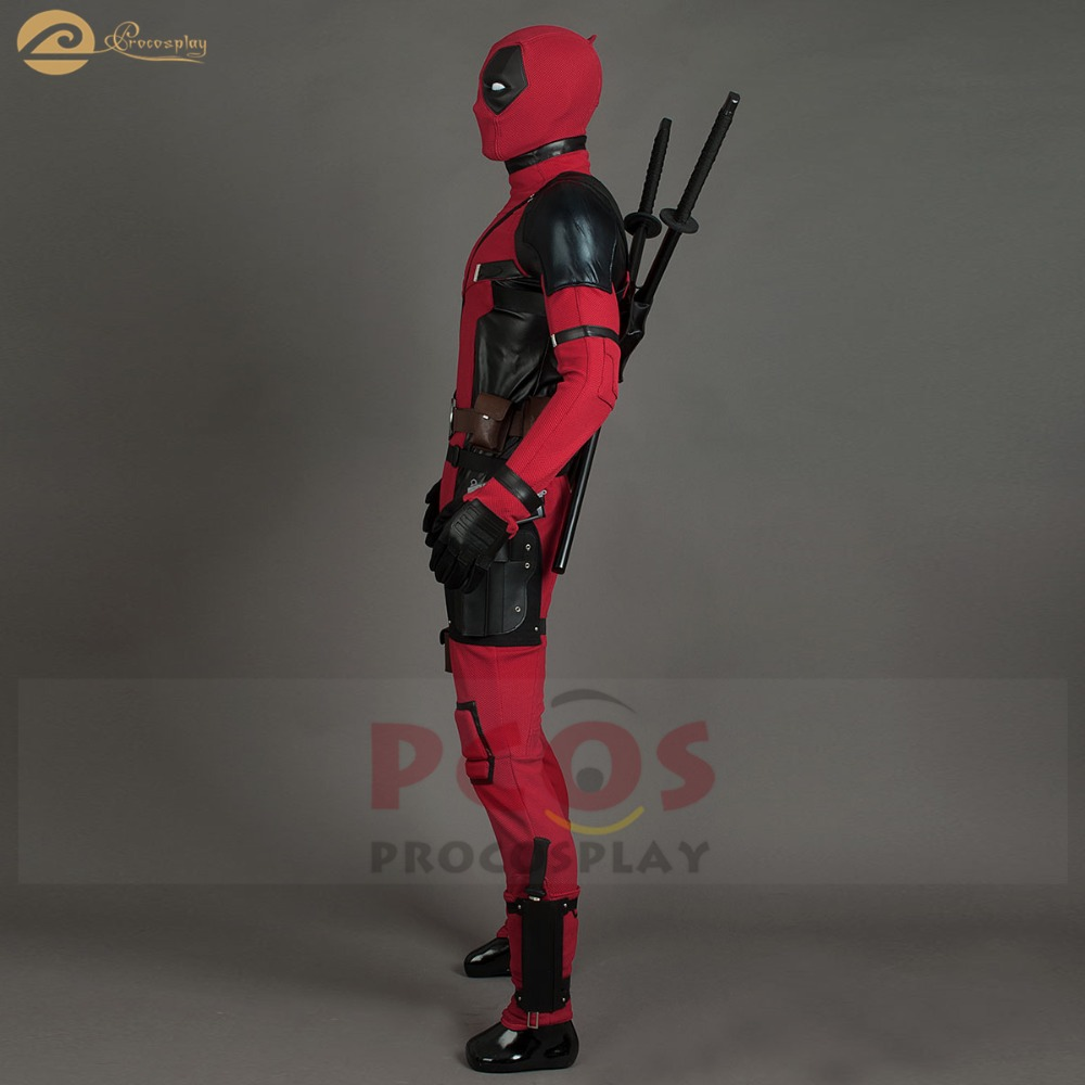 ËUltimate DealHallowen Costume Mask Deadpool Cosplay Sexy-Set Wilson Mp004206 Good Bad-Egg Wade Red'
