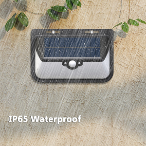 Image 3 - Luces solares LED SEASENXI 68 LEDs tres modos de funcionamiento lámparas de iluminación de jardín al aire libre luces de energía Solar de valla de pared