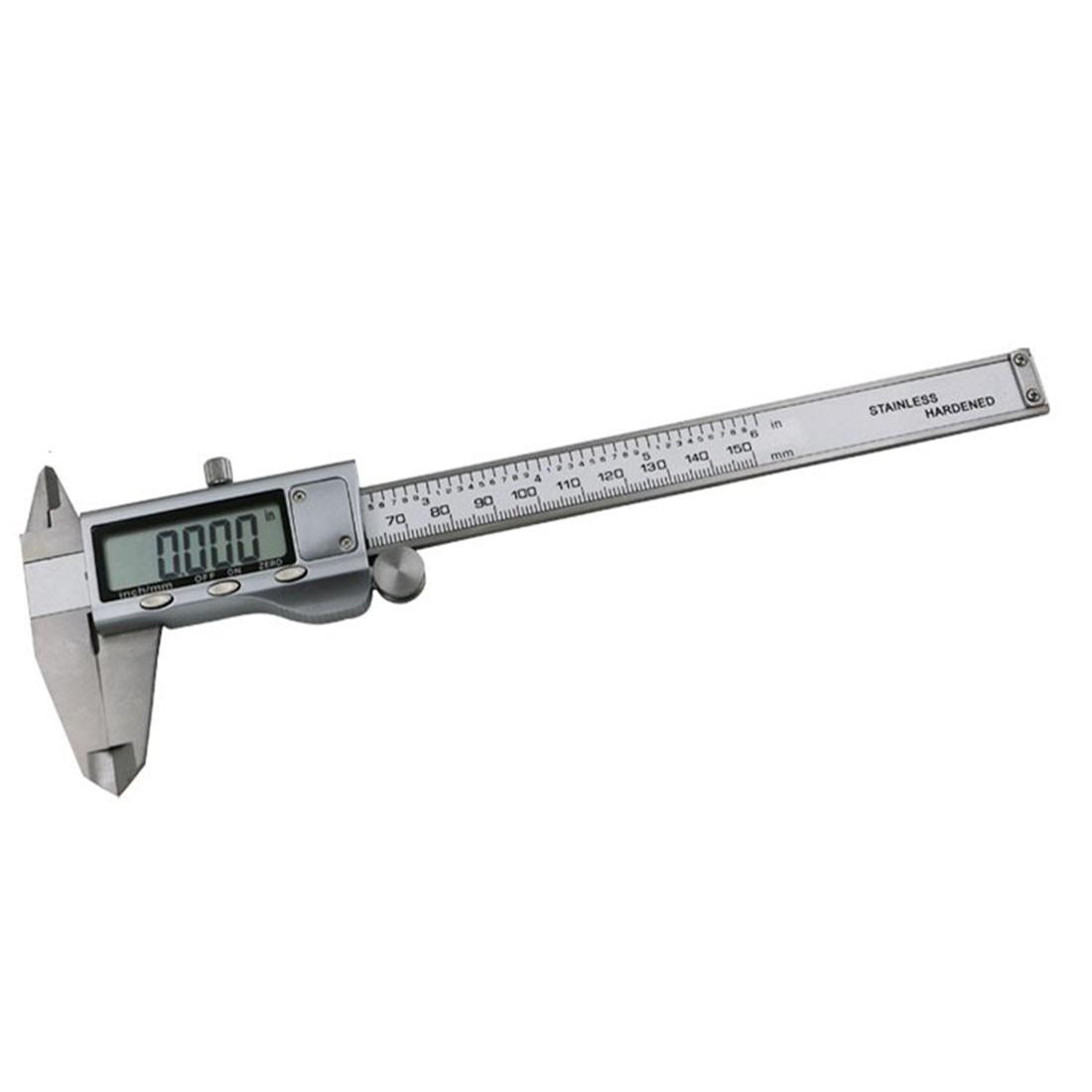 Wysokiej jakości 1szt metalowy 6-calowy 150 mm elektroniczny - Przyrządy pomiarowe - Zdjęcie 2