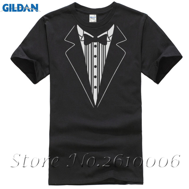 2016 New Summer Novelty Men T Shirts Tuxedo Tees Retro Tie Funny Camisetas Funny Party Mens Womens Christmas Gift Casuals Shirt