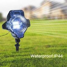 69e6f27d1d5 Tomshine LED Snowflake proyector luz resistencia al agua rotación exterior  Navidad Halloween Festival del año nuevo decoración n.