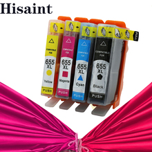 Hisaint для принтера hp чернила для hp 655 чернильный картридж для hp deskjet 3525 4615 4625 для hp 655 CZ109AE CZ110AE CZ111AE CA112AE