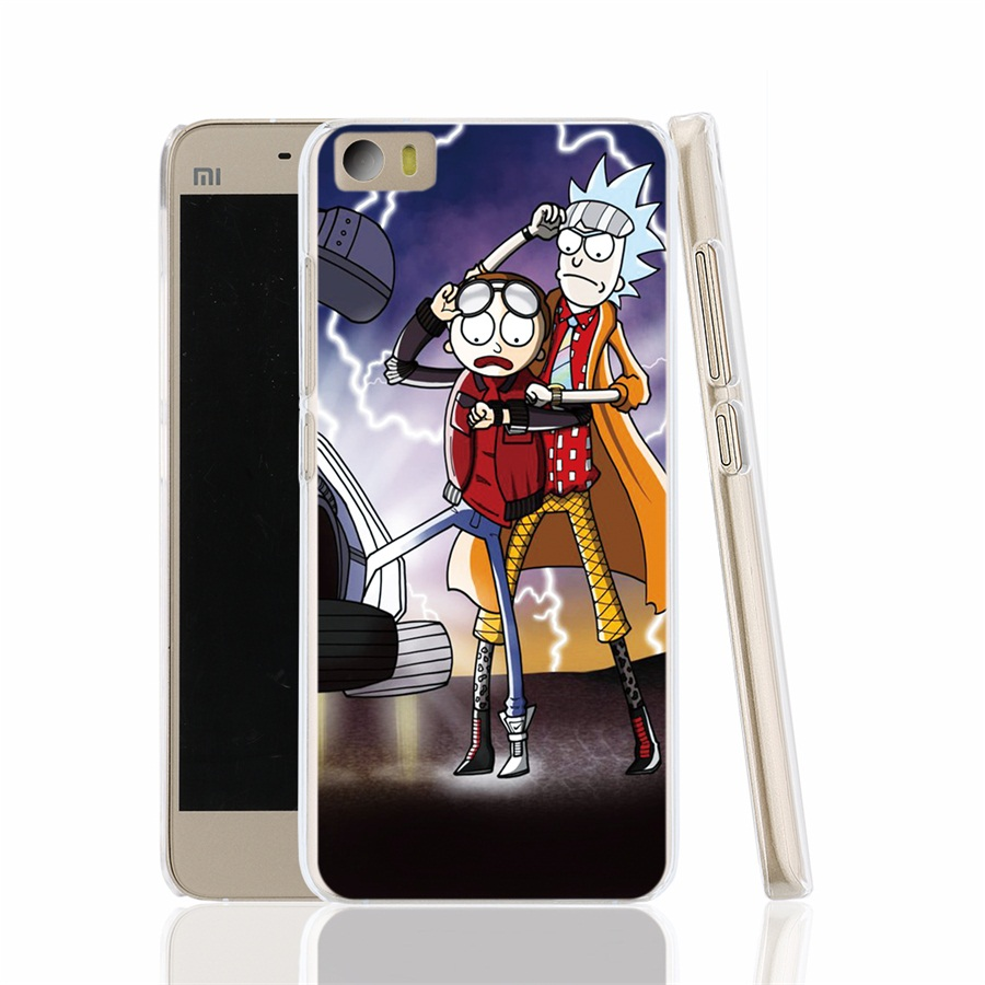 12877 rick and morty cell font b phone b font font b Cover b font Case