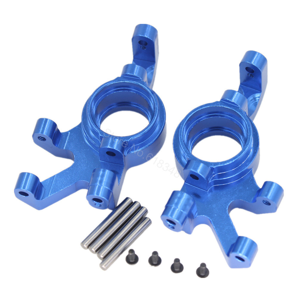 Aluminum Steering blocks Front Knuckle Arms left & right For Traxxas X-Maxx 4X4 Upgrade Parts 7737