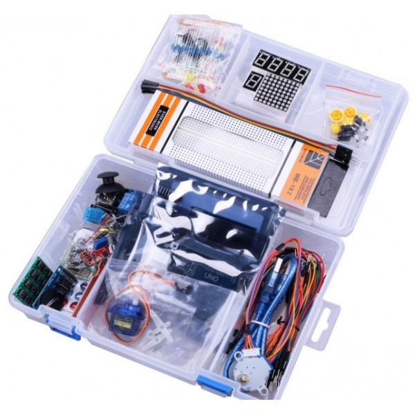 NEWEST RFID Starter Kit for Arduino UNO R3 Upgraded version Learning 1602 LCD in Integrated Circuits from Electronic Components Supplies