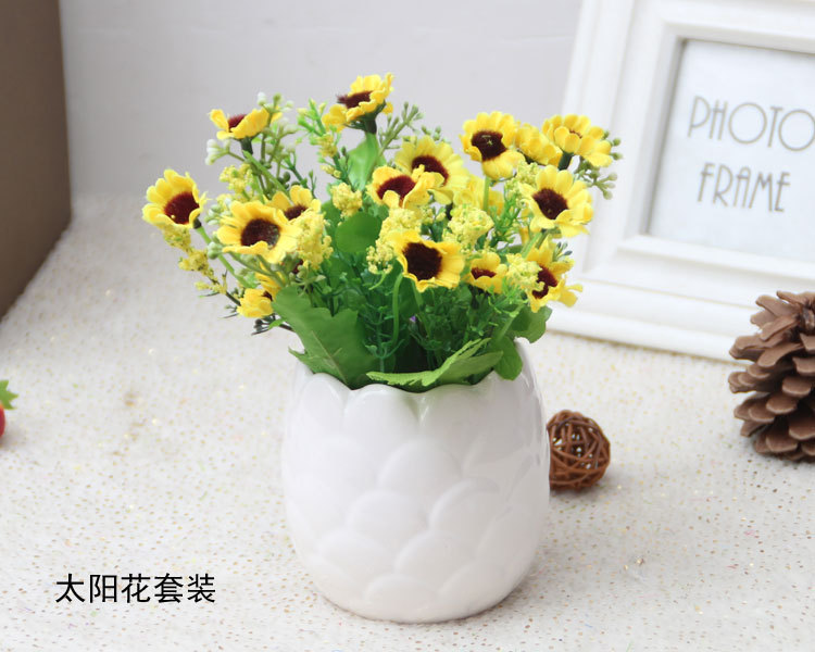2016 home daisy artificial flowers potted home decor good quality 2016 home daisy artificial flowers potted home decor good quality artificial plants table decoration mariage 5 designs in artificial dried flowers from mightylinksfo