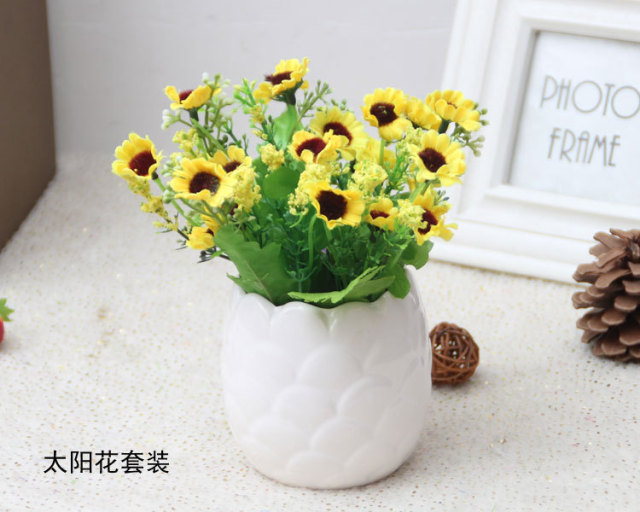 2016 home daisy artificial flowers potted home decor good quality 2016 home daisy artificial flowers potted home decor good quality artificial plants table decoration mariage 5 mightylinksfo Gallery