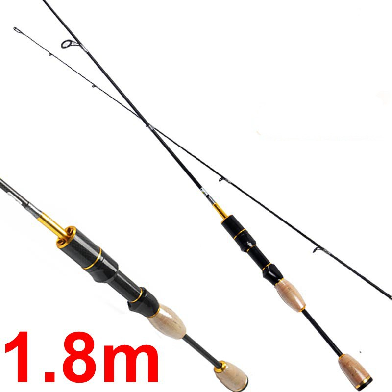 Ultra light spinning fishing rod 76g brand carretilha for Light fishing rods