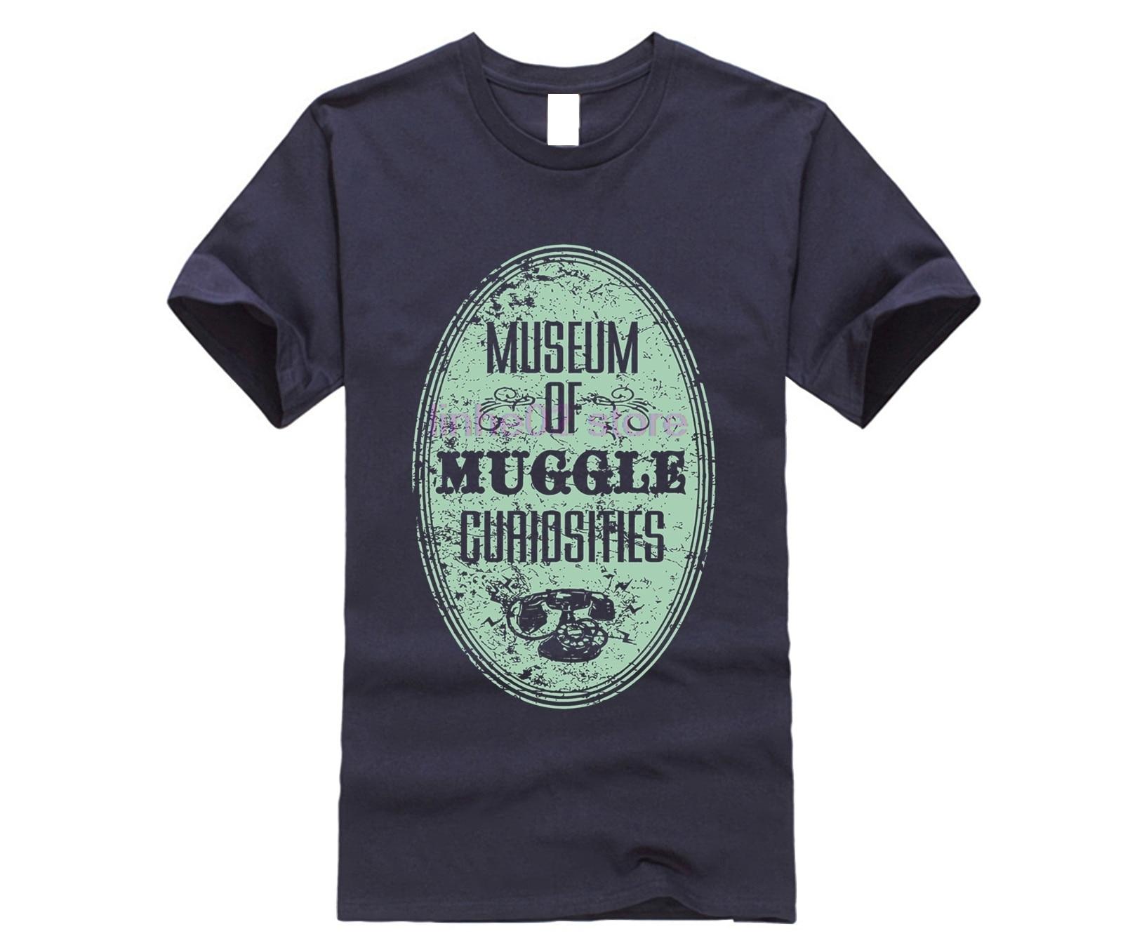 harry men shirt Museum of Muggle Curiosities T-Shirt (2) potter top tee 22