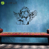 JJRUI Home Decoration Angel, Mural Decals Decor Removable Deco DIY Wall Sticker for Kids Rooms 21 COLOUR 29.5x22in