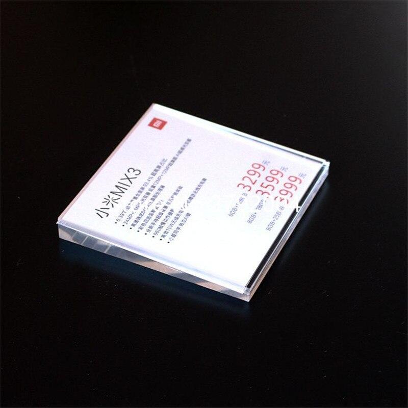 Parede de Exibição Preço Info Etiqueta de Papel quadro