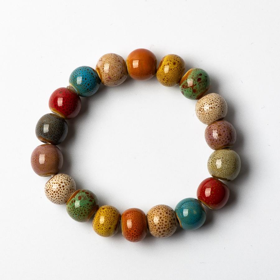 Schmuck & Zubehör Gehorsam Bunte Keramik Perlen Armbänder Hand Made Diy Artware Retro Armband Schmuck Großhandel # Fy361 Strang-armbänder