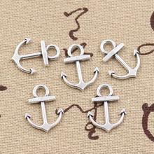 30pcs Charms anchor sea 19x15mm handmade Craft pendant making fit,Vintage Tibetan Silver,DIY for bracelet necklace