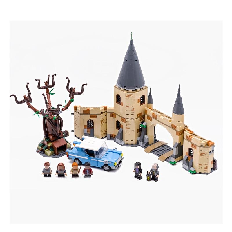 759 Pcs Harry Potter Moc Series - Whomping Willow Building Blocks 75953