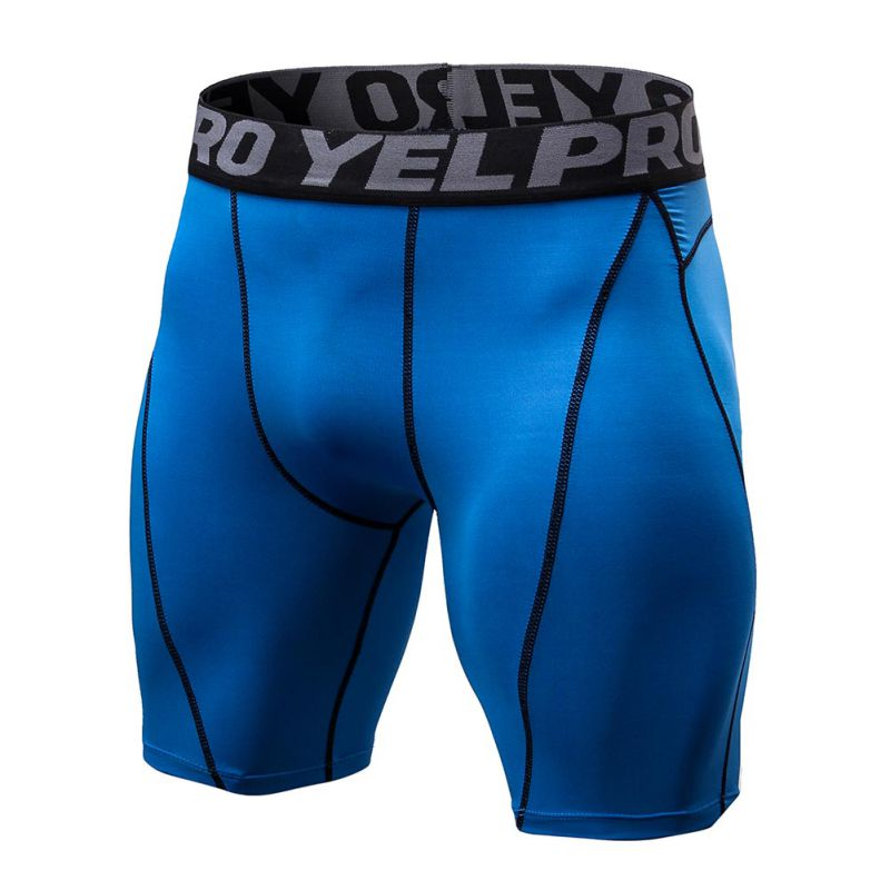 Summer running shorts men Quick Drying Training Fitness Compression Gym Shorts