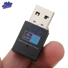 Mini 300 M USB2.0 RTL8192 Wifi Dongle WiFi adapter Draadloze wifi dongle Network 802.11 n/g/b wifi LAN Adapter(China)