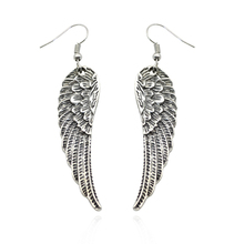 Cool Fashion Angel Wings Earrings Ladies Feather Studs Pairing Pendant Tassel Statement Gift Dropshipping