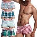 Seobean boxer de algodão dos homens underwear calções de salão calças de pijama em casa