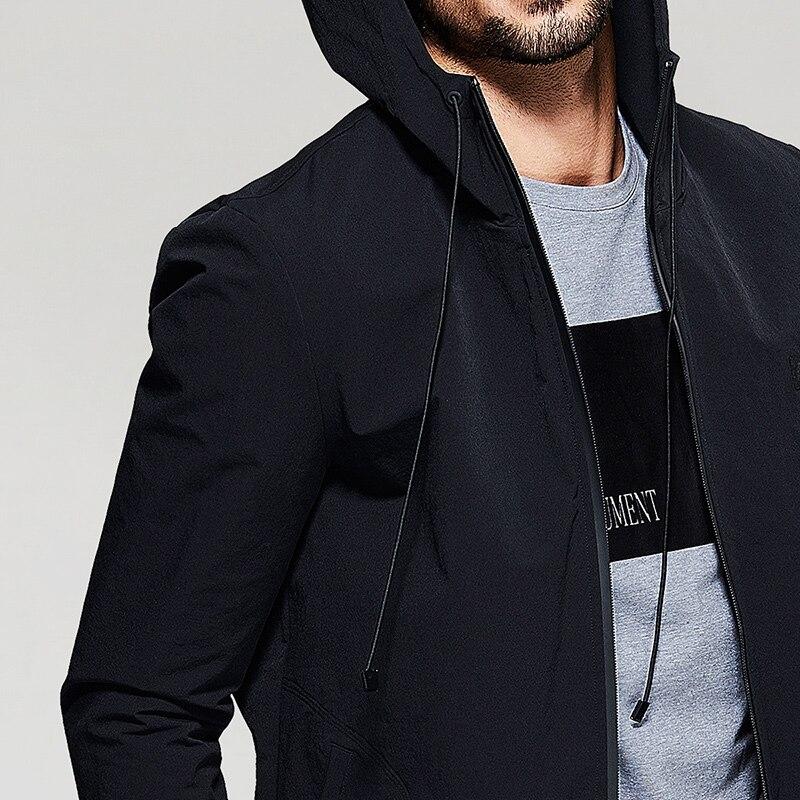 2017 Automne 2078 Casual Veste Faux Hiver Hommes Manteau Noir Kuegou Vêtements Marque Survêtement Qualité De Haute Suede q4xd5ZwUw