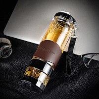 Portable Tea Bottle Separation Tea Cup Light Plastic Creative Filter Water Bottle Portable Tea Maker For