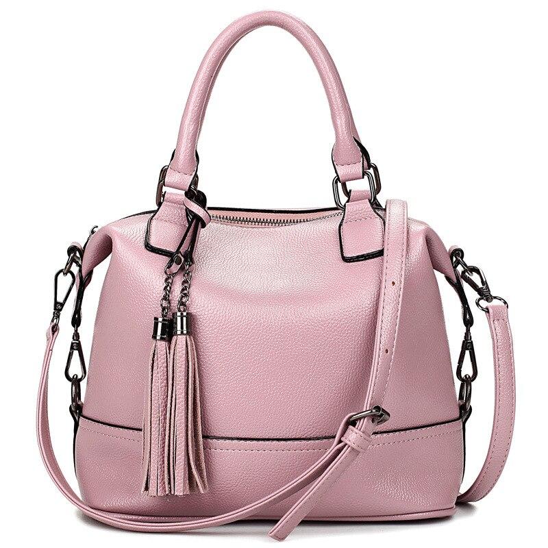 Women Leather Handbags Tassel Crossbody Bags for Women Bags Handbags Women Famous Brands Women Messenger Bags