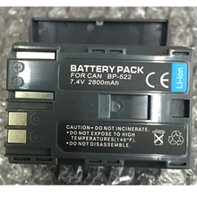 BP522 BP-522 lithium batteries BP522 Digital camera battery FOR Canon EOS 50D D60 EOS 300D G1 G2 G3 G5 ZR40 ZR45 ZR50 ZR65 ZR80