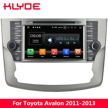 """KLYDE 8"""" 4G Android 8.0 Octa Core 4GB RAM 32GB ROM BT Car DVD Multimedia Player Radio GPS Navigation For Toyota Avalon 2011-2013"""