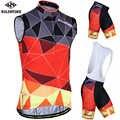 Siilenyond 2019 Pro Для мужчин без рукавов Vélo комплект для велоспорта Костюмы костюм дышащая для езды на гоночном велосипеде одежда