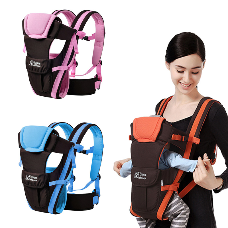 Baby Breathable Front Facing Carrier 4 In 1 Infant Comfortable Sling Backpack Pouch Wrap Baby Outdoor Safe Carrier Drop Shipping