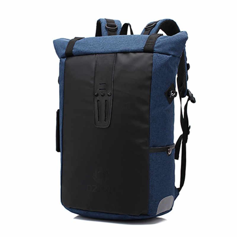 ed24e09f11 ... Ozuko New Multi-functional Casual Men Backpacks Travel Mochila Shoulder  Bag Creative Male Waterproof Laptop ...