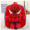 Marvel hero niños mochilas mochila niño niños bolsas mochilas de preescolar para niños superman batman spiderman capitán américa