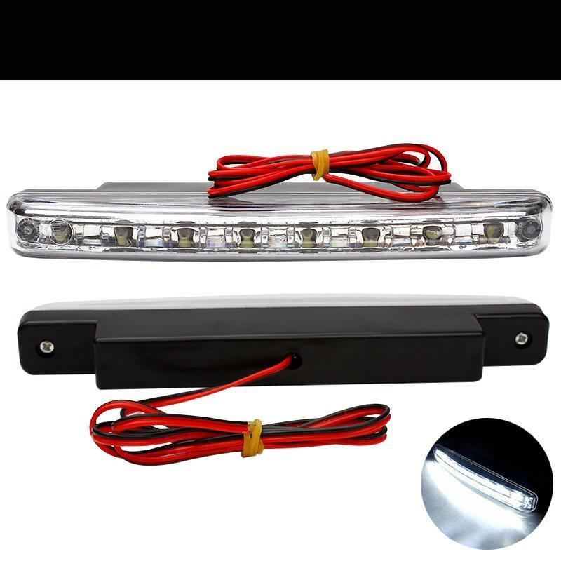 New 2017 Vehicle Car style 8LED Daytime Driving Running Light DRL Fog Lamp For Haima 3 7 M3 S5 JAC J2 J3 J4 J5 J7 S1 S3 S5 авто jac s5 в москве