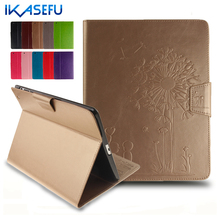 IKASEFU PU Leather Coque Fundas Filp Stand For ipad 2 3 4 9.7 inch Cover For Apple iPad 234 ipad2 ipad3 ipad4 Soft Tpu Back Case