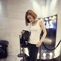 Hot Sale 2016 new Korean version Slim thin solid Wild Tank Tops women Sleeveless sexy small vest Bra women's vest