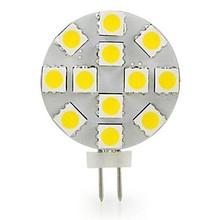 Side-Pin G4 LED Light Bulb, 10-Pack, 1.8 Watt,220 Lumen,12 Volt, 20W Equivalent, Bi Pin Base Halogen Replacement Bulb