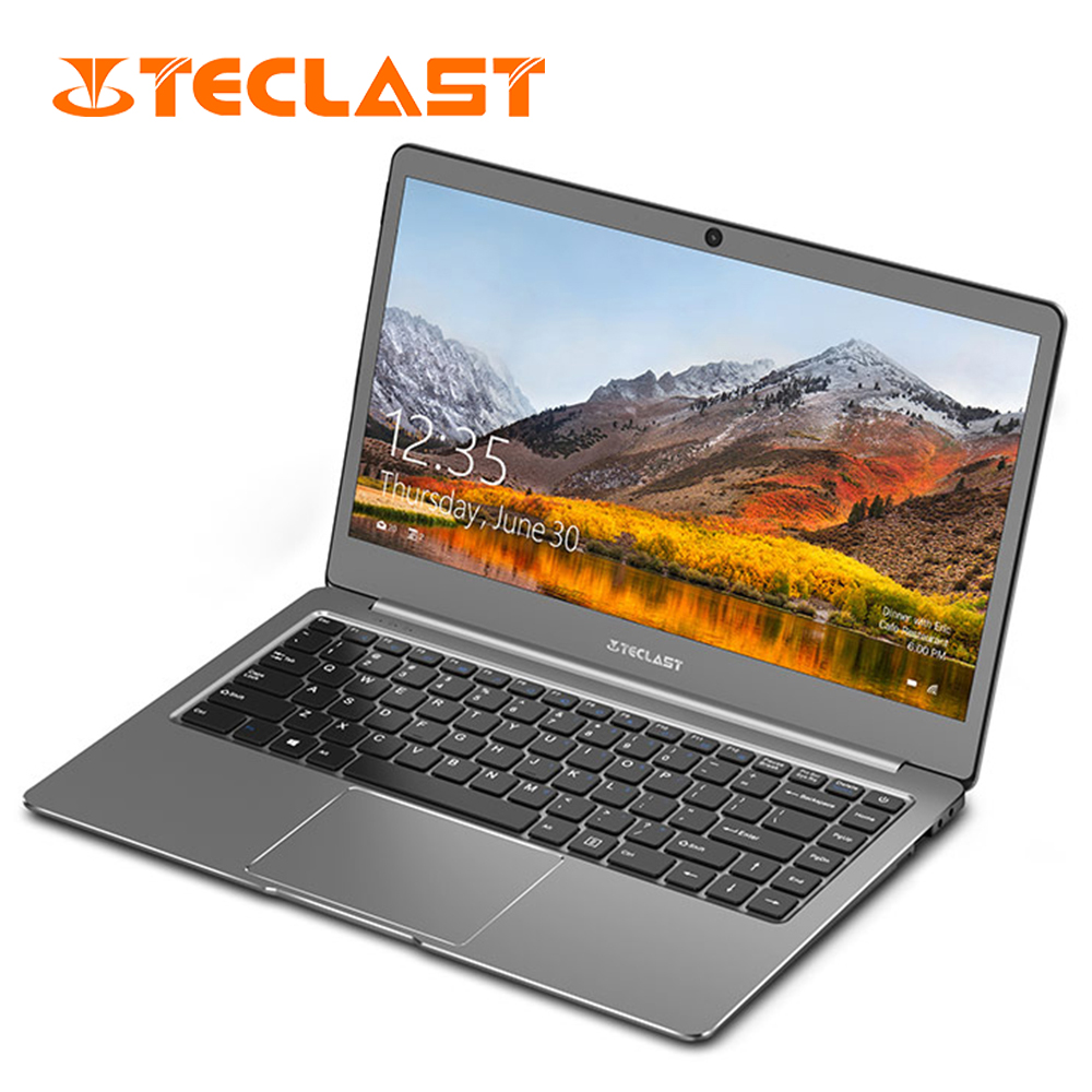 Teclast Laptops F6 Notebook 13.3 Inch 1920*1080 Intel Apollo Lake N3450 Windows 10 Quad Core 6gb Ram 128gb Ssd Bluetooth4.0 Hdmi