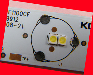 Image 3 - 200piece/lot for repair Konka Changhong Hisense LCD TV LED backlight SMD LEDs 3V 2835 Cold white light emitting diode