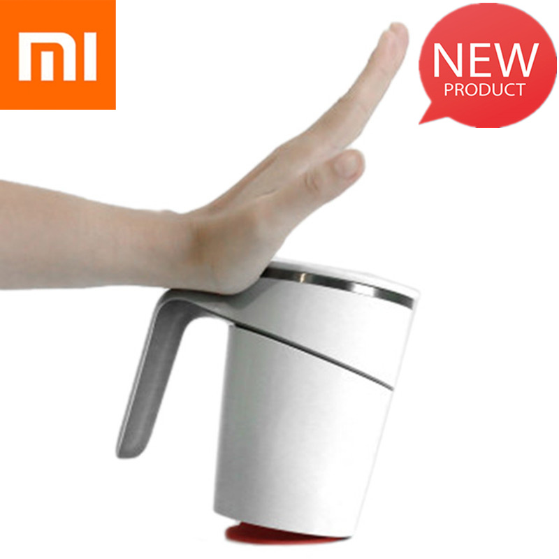 Xiaomi 470ml Not Pouring Cup Innovation Magic Sucker Splash Proof Nonslip ABS Double Insulation 304 Stainless From Xiaomi YoupinXiaomi 470ml Not Pouring Cup Innovation Magic Sucker Splash Proof Nonslip ABS Double Insulation 304 Stainless From Xiaomi Youpin