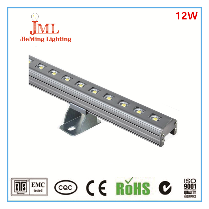 Factory directly sale low price aluminum materilal 1m 12w OSRAM 3030 Led Linear Light free shipping factory price aluminum profile for led strip milky transparent cover for 12mm pcb with fittings 1m pcs
