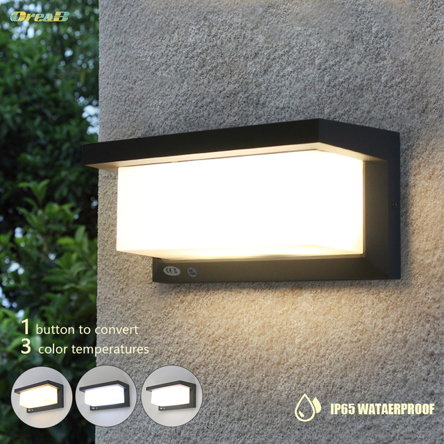 3 Gear Dimming 20 Led Ip65 Waterproof Patio Outdoor Exterior Led Step Lights Fancy Ideas Recessed Stairwell Lighting Fixtures