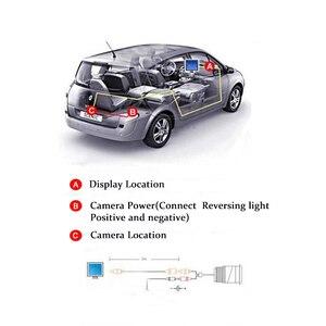 """Image 4 - Hippcron moniteur de voiture 4.3 """"écran pour vue arrière caméra de recul TFT LCD écran HD numérique couleur 4.3 pouces PAL/NTSC"""