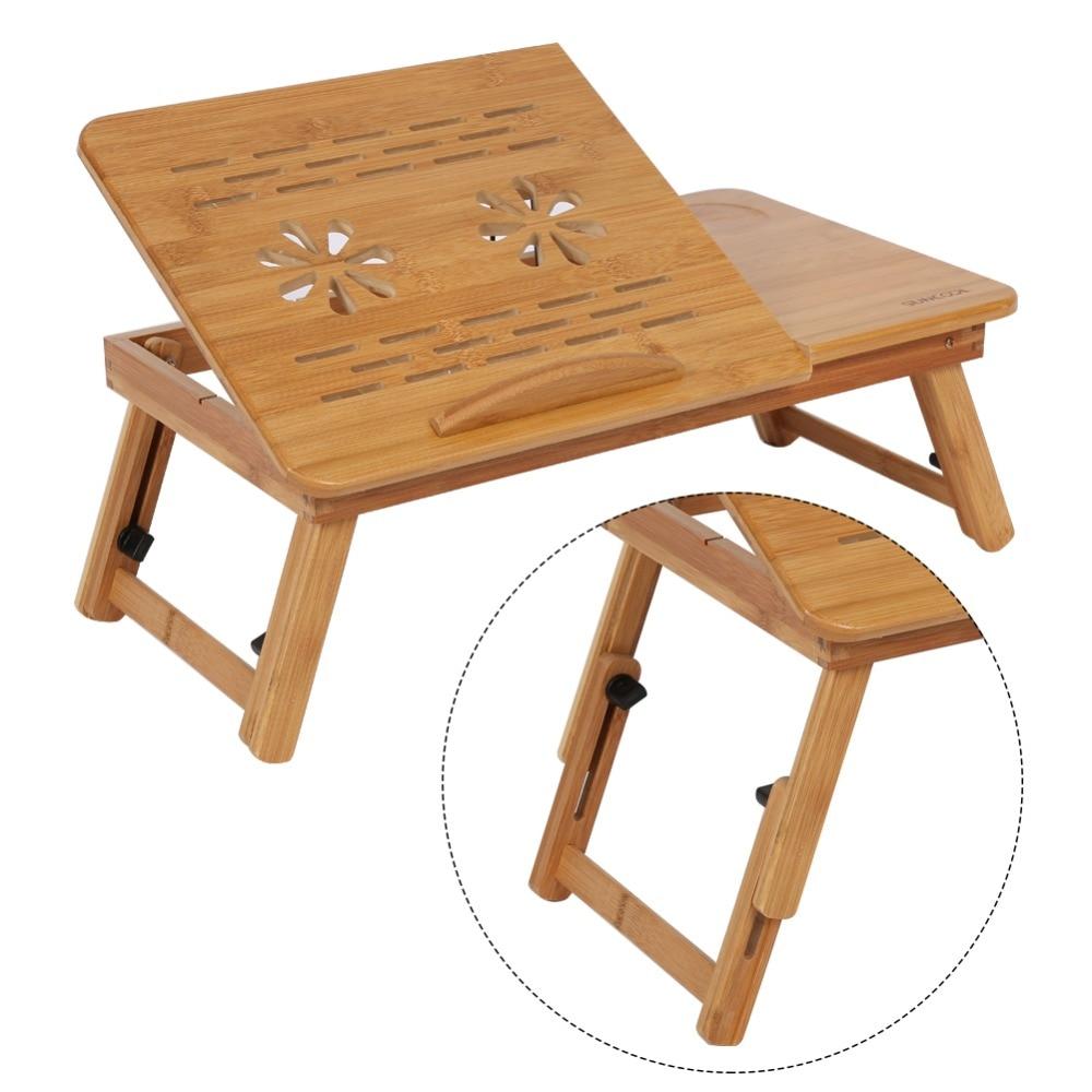 1 X Bamboo Laptop Desk