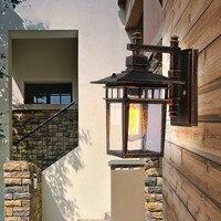 American vintage water-resistant wall lamp american style outdoor wall lamp garden lights waterproof lighting fitting outdoor