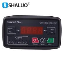 MGC100 небольшой контроллер генераторной установки, модуль защиты от автоматического запуска, Универсальный светодиодный дисплей, плата контроллера, бензиновый генератор, комплект, часть
