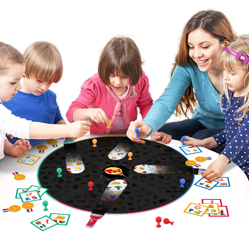 Kids Interactive Memory Matching Game TOI Find It With Small Flashlight Family Party Funny Puzzle Board Game Education Toy