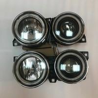 For BMW E34 E32 5 Series Angel Eyes Halo Projector Head Lights BLACK 1988 1989 1990 1991 1992 1993 1994