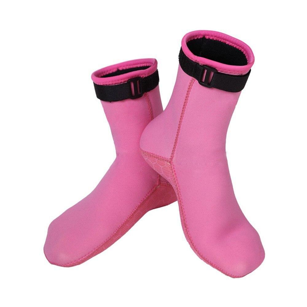 1 пара Гидрокостюмы мокрого типа Одежда заплыва Дайвинг Носки для девочек неопрен 3 мм неопрена Нескользящие воды Носки для девочек b2cshop